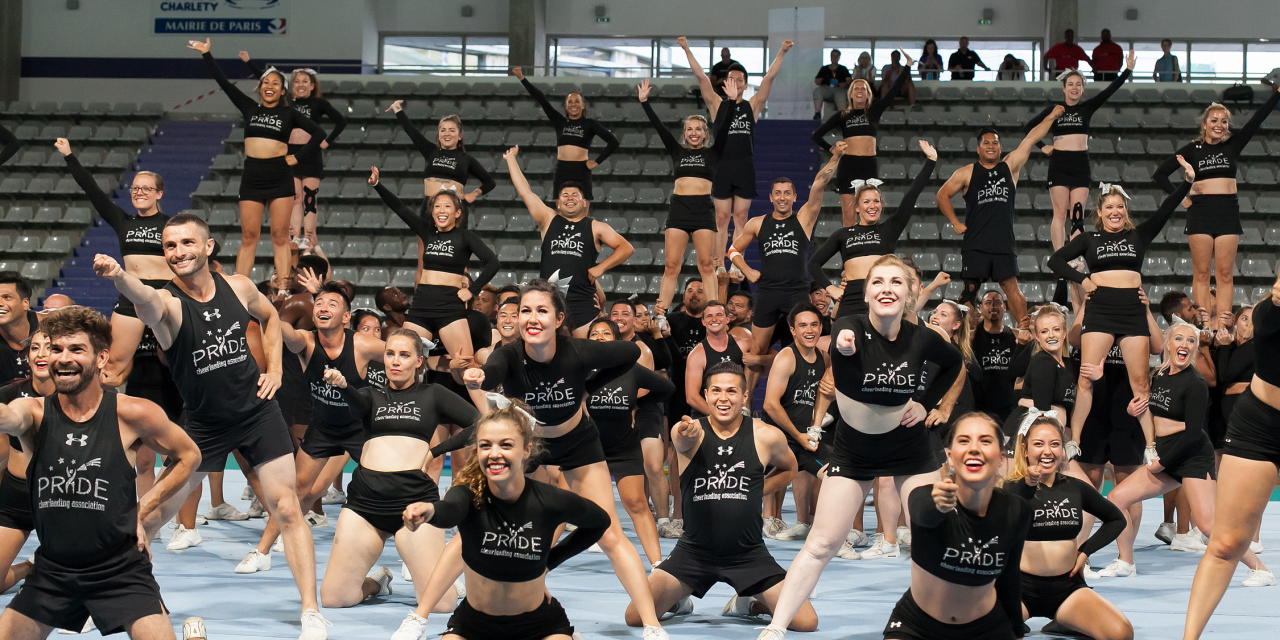 "PRIDE Cheerleading Association Bringing ""Heels Over Head"" Fun to the Sin City Classic"