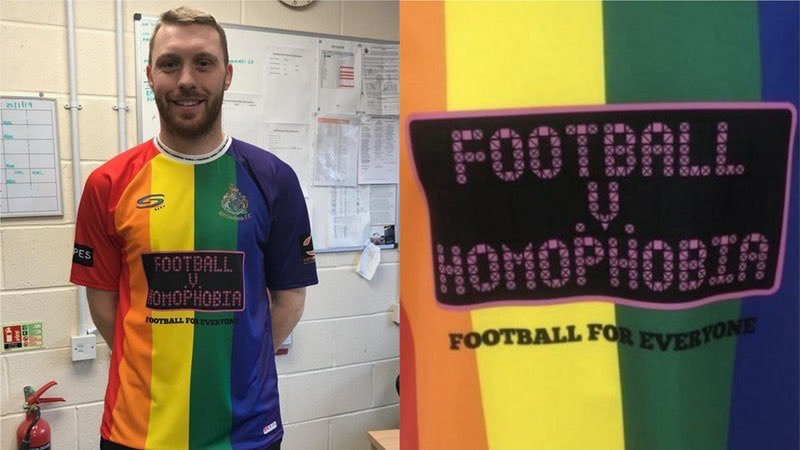 Altrincham FC Fights Homophobia in Football (Soccer) With New Kit Design