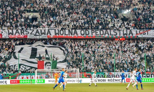 Legia Warsaw Condemns Anti-LGBT Banner Unfurled During Match