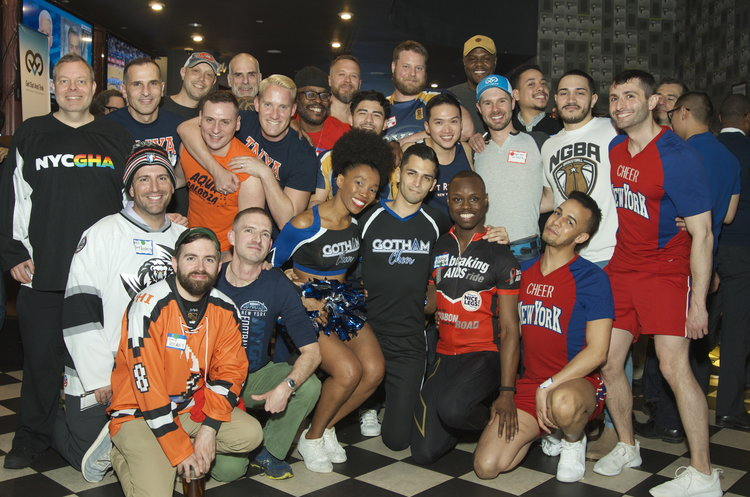 JOCK-A-THON Gay Networking Party Connects New York City's LGBT Sports Teams, Athletes, and Athletic Supporters