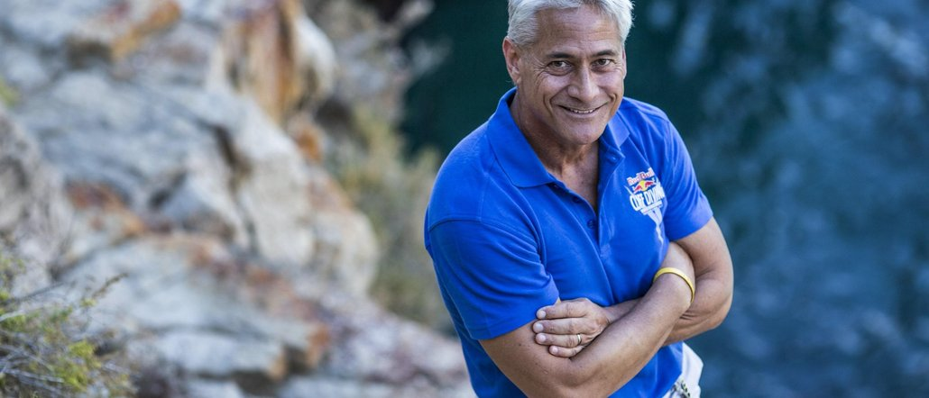 Openly Gay Diver, Greg Louganis, Returns to Officiate 2019 Cliff Diving World Series