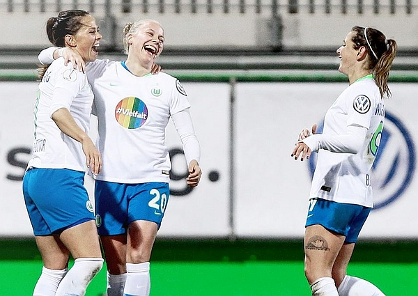 VFL Wolfsburg Furthers Message of Equality, Inclusion and Acceptance as the First Bundesliga Team with Rainbow Jerseys