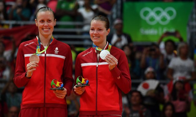 Openly Lesbian Badminton Silver Medalists Take Baby on Tour