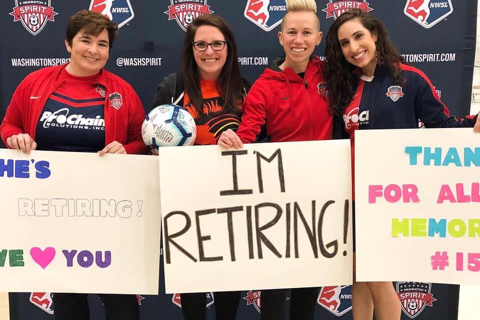 Openly Lesbian Professional Soccer Player, Joanna Lohman, Announces Retirement