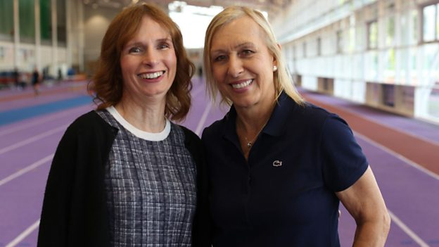"Martina Navratilova Appears in BBC Documentary ""Trans Athletes: A Fair Playing Field?"""
