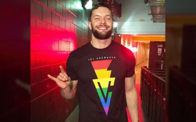 WWE Superstar Finn Bálor Shows Support for LGBTQI Community During Competition in Saudi Arabia