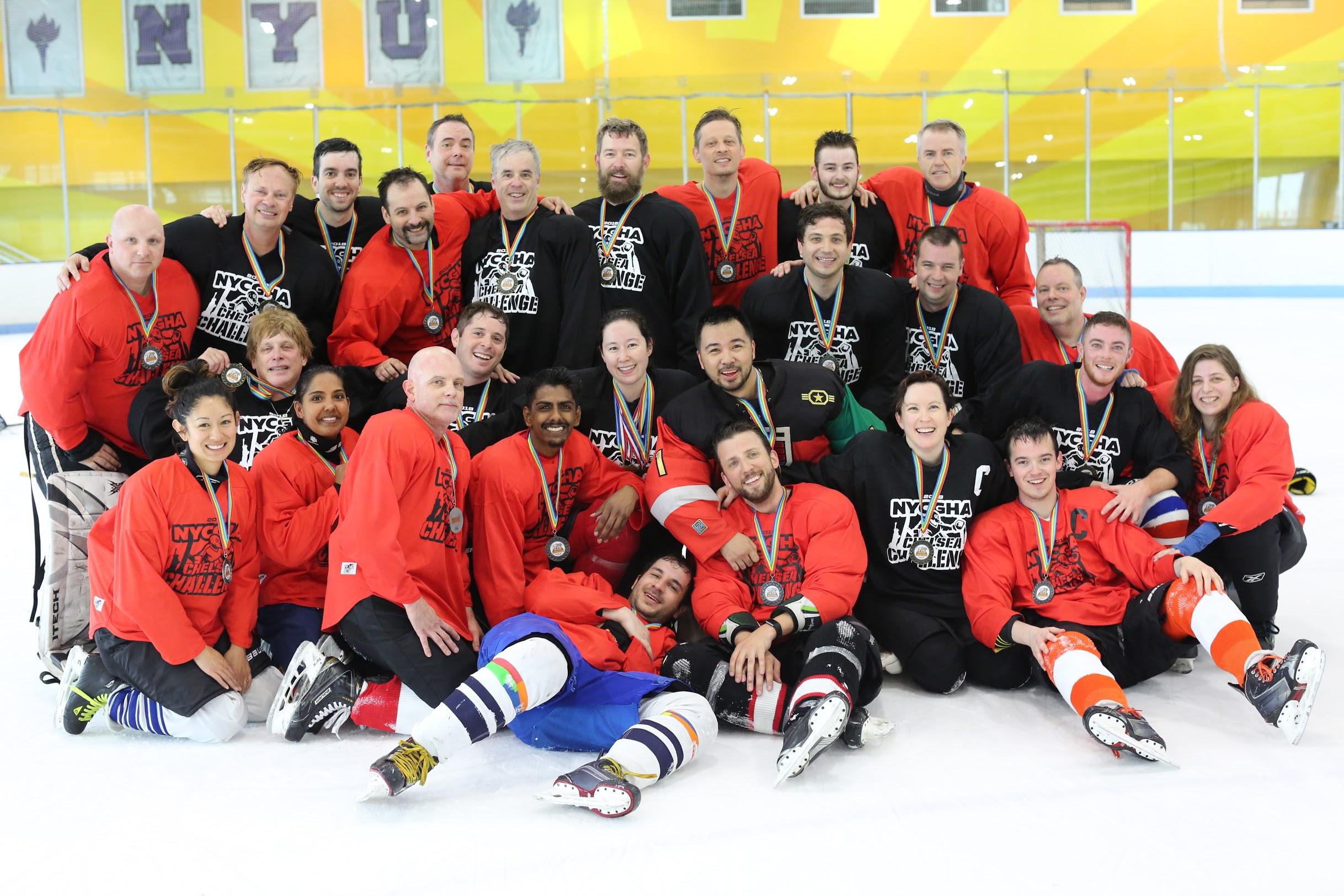 New York City Gay Hockey Association Celebrates World Pride With The