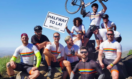 Gus Kenworthy Raises over $243,000 for AIDS LifeCycle