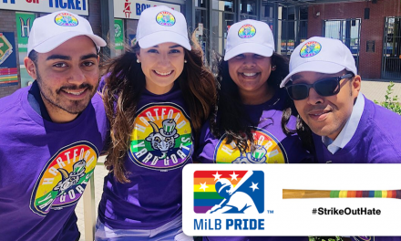 Minor League Baseball Establishes Largest Pride Celebration in Professional Sports