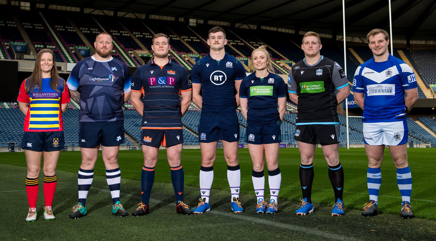 Scottish Rugby Straps on Their #RainbowLaces