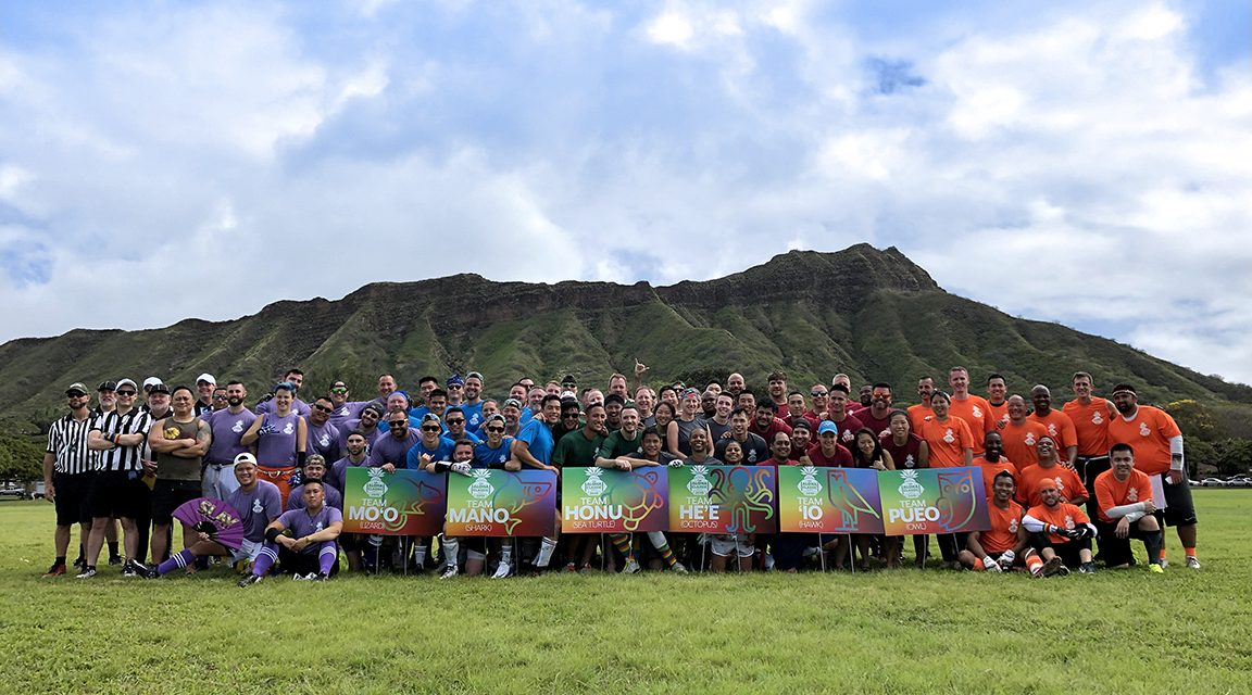 Hawaii Gay Flag Football League Kicking Off 2020 Gay Bowl Fundraising with Friendsgiving