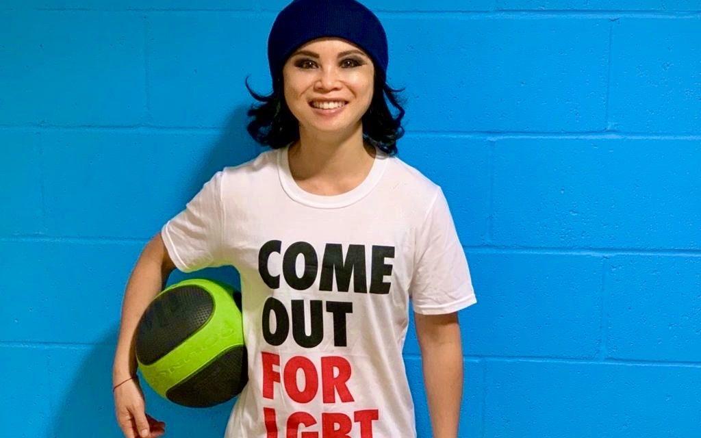 Amazin LêThi Becomes Stonewall UK's first Asian Sport Champion Ambassador
