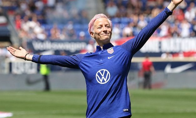 Megan Rapinoe Named Sport Illustrated's Sportsperson of the Year.