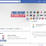 NBA, NFL, NHL and WNBA Show Their Pride on Facebook