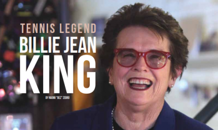 Sports Diversity Legend Billie Jean King Honored for Work in Equality