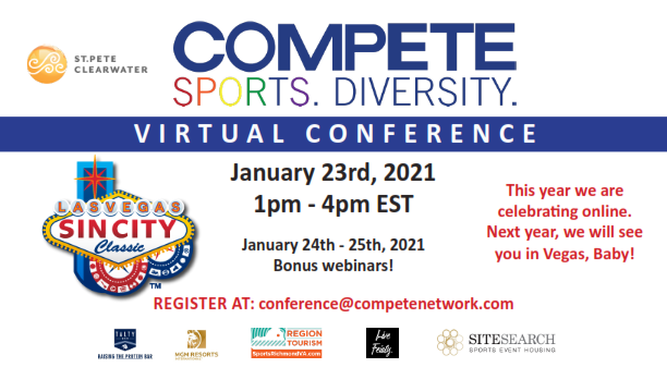 Make a Difference at 2021 Compete Virtual Conference Jan 23-25