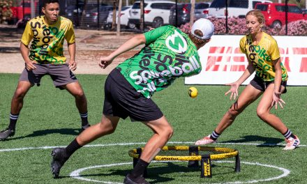 What exactly is Spikeball and Roundnet? Catching up with SDC Member Nora White for the Scoop