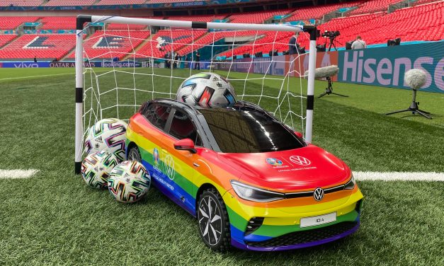 As the UEFA Euro Cup Heads into the Final, So Will the Rainbow and in Style