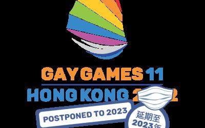 2022 Gay Games in Hong Kong is Postponed to 2023
